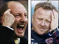 Ian Holloway and Stevie Frail