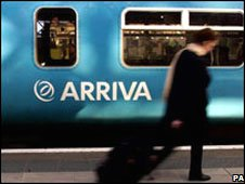 An Arriva Train (library picture)