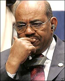Sudanese President Omar al-Bashir (File pic, 2008)