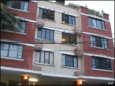 Anne Darwin's apartment in Panama