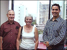 Photo of John and Anne Darwin published on the Move to Panama website