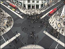 Proposed changes to Oxford Circus