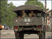 Узбекские военные (май 2005)