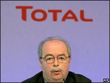 Christophe de Margerie, Total chief executive