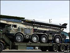 Zelzal missile on parade in Tehran [File pic]