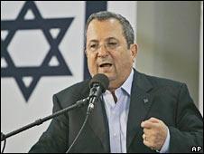 Israel's defence minister Ehud Barak (file image)