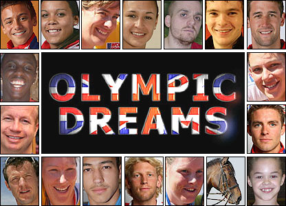 Olympic hopefuls are featured in BBC's Olympic Dreams