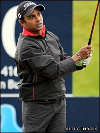 Golfer Shiv Shankar Prasad Chowrasia