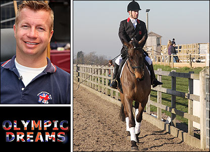 Lee Pearson is featured in BBC's Olympic Dreams