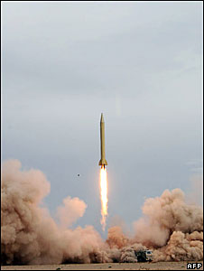Iran test-launches a Shahab-3 missile
