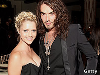 Teresa Palmer and Russell Brand