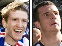 Steven Davis and Barry Ferguson