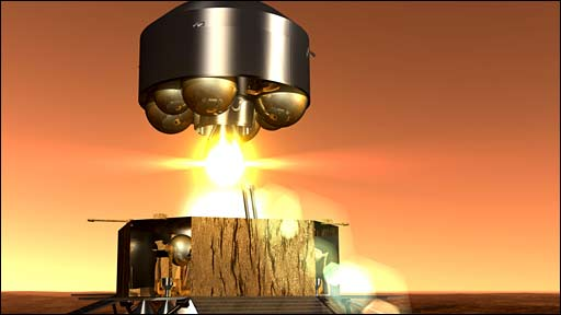 Animation of Mars Sample Return (Esa)