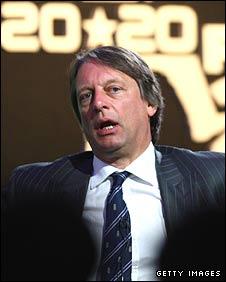 ECB chairman Giles Clarke