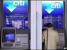A Citigroup bank in Germany