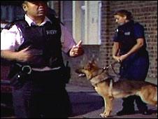 Scene of Leyton stabbing