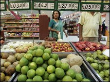 Indian supermarket
