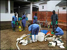 Angola Marburg outbreak