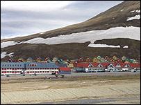 Longyearbyen town