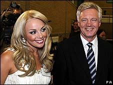 Gemma Garrett and David Davis