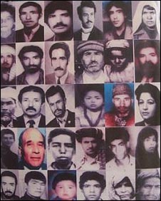 Faces of the missing