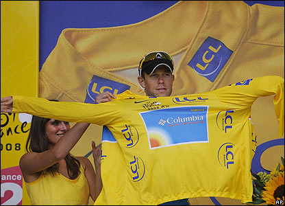 Team Columbia's Kirchen retains the leader's yellow jersey