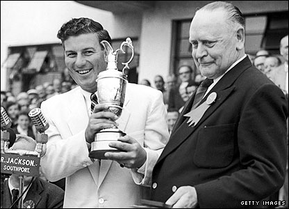 Peter Thomson took advantage as Ben Hogan did not return to defend his title