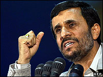 President Mahmoud Ahmadinejad (Photo: Behrouz Mehri/AFP/Getty Images)