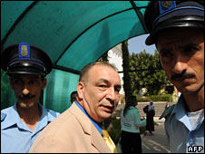 Al-Jazeera's Morocco bureau chief Hassan Rachidi in Rabat, 1 July