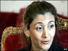 Ingrid Betancourt, Paris, 9 July 2008