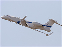 طائرات التجسس التي كشفت عنها اسرائيل مؤخرا 10-07-2008