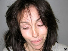 Photo of Heidi Fleiss issued by police in February 2008