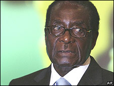Robert Mugabe at the assembly of the African Union  30 June