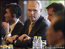 US envoy Christopher Hill at talks in Beijing