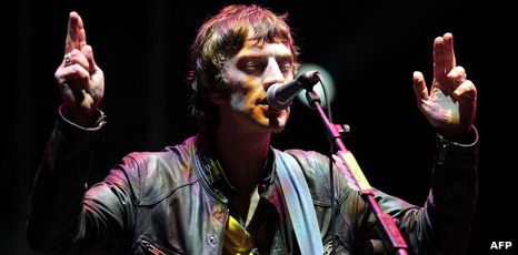 Richard Ashcroft from The Verve