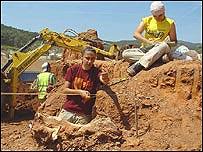 Excavaci�n en el yacimiento catal�n