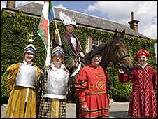 Some of the Henry Tudor riders