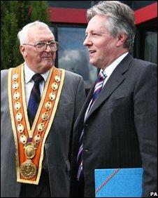 Dawson Bailie and Peter Robinson