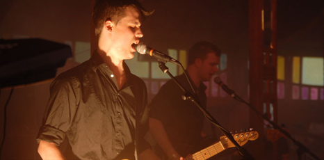 Harry McVeigh and Charles Cave from White Lies