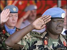 Unamid force commander General Martin Luther Agwai - 12/7/2008