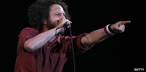 Zack de la Rocha from Rage Against The Machine