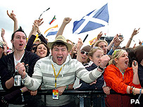 Crowd at T in the Park