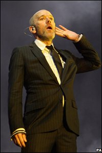 Michael Stipe of REM