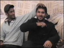 Waheed Ali and bomber Hasib Hussain, November 2004