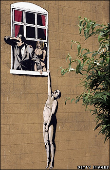 Banksy art in Bristol