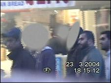Left to right: Waheed Ali, Mohammad Sidique Khan and bomb plotter Omar Khyam