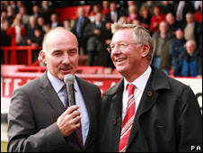 Willie Miller and Sir Alex Ferguson