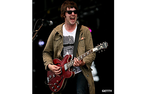 Liam Fray from The Courteeners