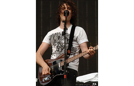Jon Fratelli from The Fratellis