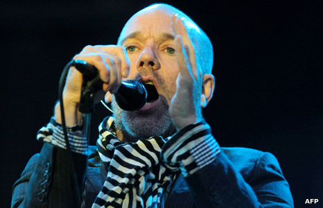 Michael Stipe from REM